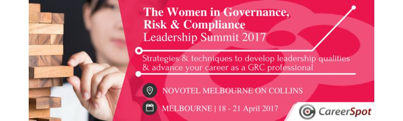 Women in Governance, Risk & Compliance Leadership Summit 2017