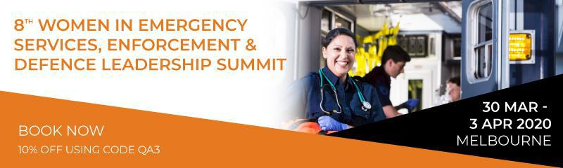 8th Women in Emergency Services, Enforcement & Defence Leadership Summit